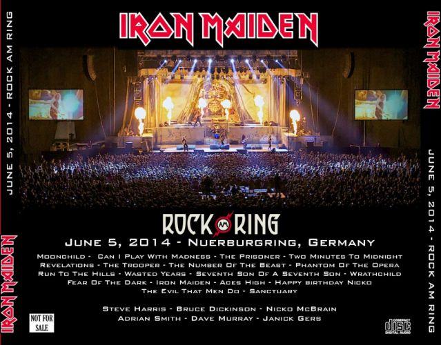IRON MAIDEN heavy metal power poster concert wallpaper