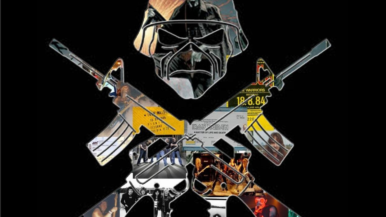 IRON MAIDEN heavy metal power artwork dark evil eddie skull poster concert wallpaper