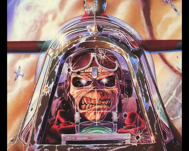 IRON MAIDEN heavy metal power artwork dark evil eddie skull wallpaper