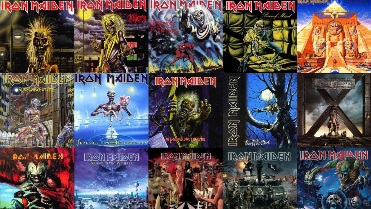 Iron Maiden Heavy Metal Power Artwork Dark Evil Eddie Skull Poster