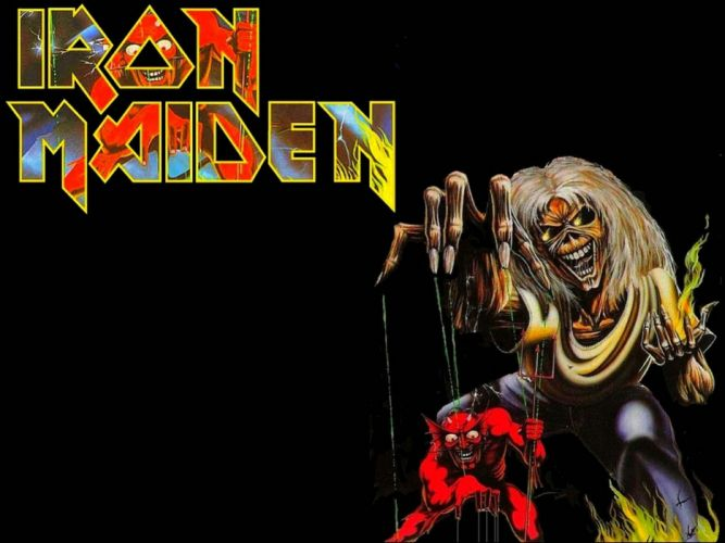 IRON MAIDEN heavy metal power artwork fantasy dark evil eddie skull poster wallpaper