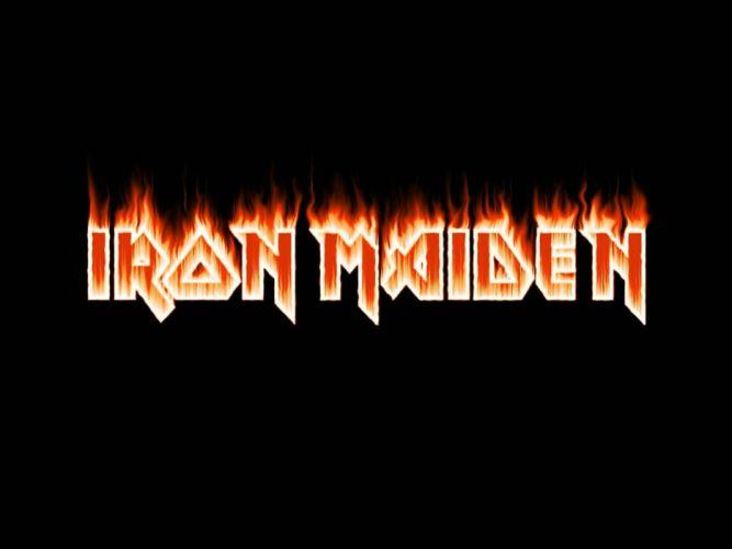 IRON MAIDEN heavy metal power poster wallpaper