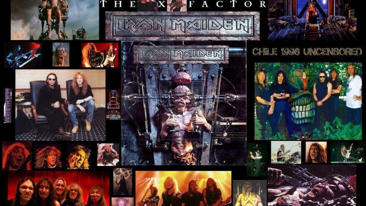 IRON MAIDEN heavy metal power artwork fantasy dark evil eddie skull poster wallpaper