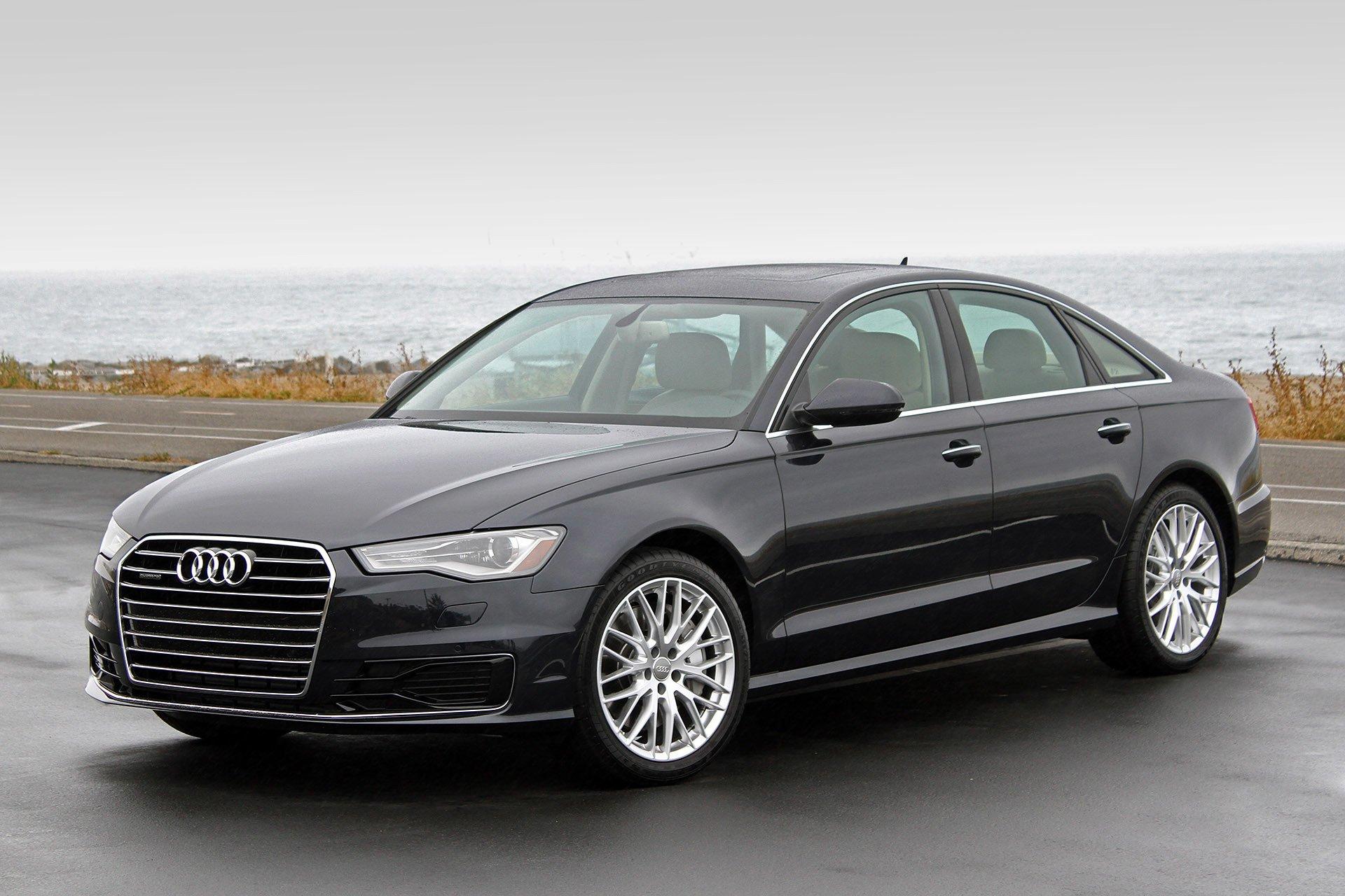 2016 audi a6 cars sedan black wallpaper 1920x1280