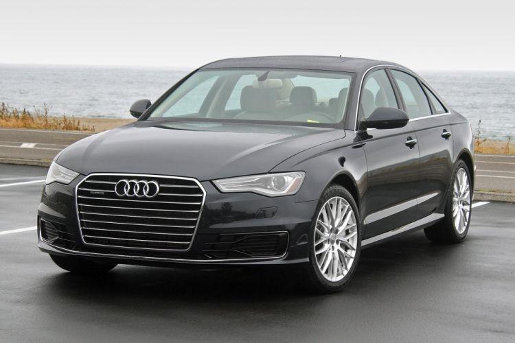 2016 Audi A6 cars sedan black wallpaper