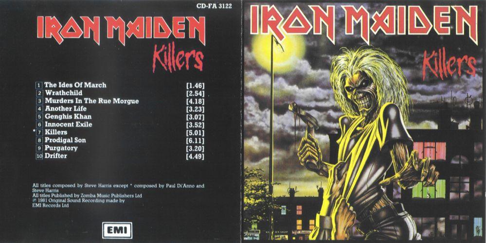 IRON MAIDEN heavy metal power artwork fantasy dark evil eddie skull demon poster sci-fi cyborg robot wallpaper