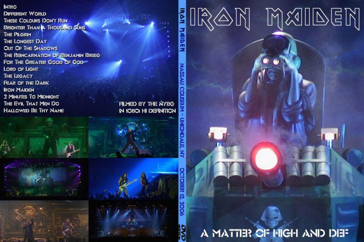 IRON MAIDEN heavy metal power concert poster wallpaper