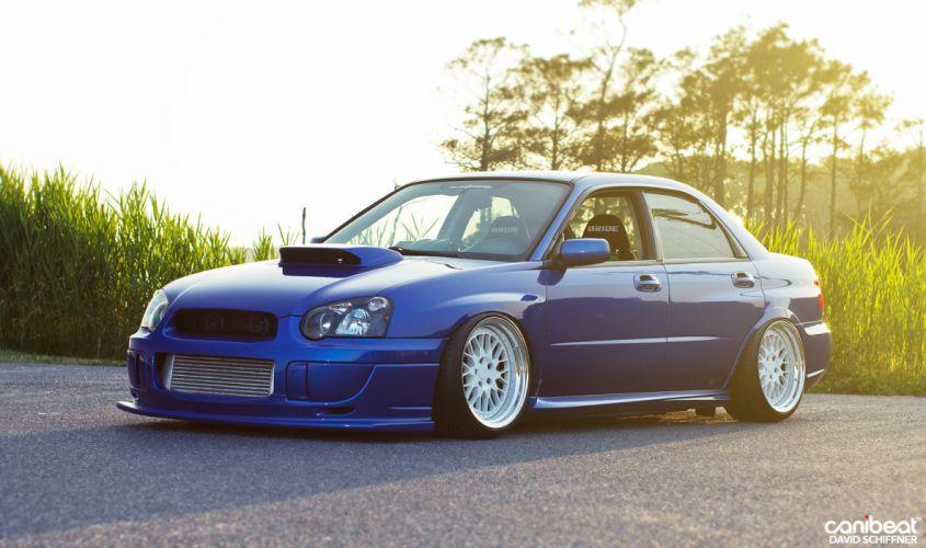 2005 Subaru STI tuning custom wallpaper