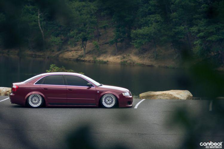 2002 Audi A-4 tuning custom wallpaper