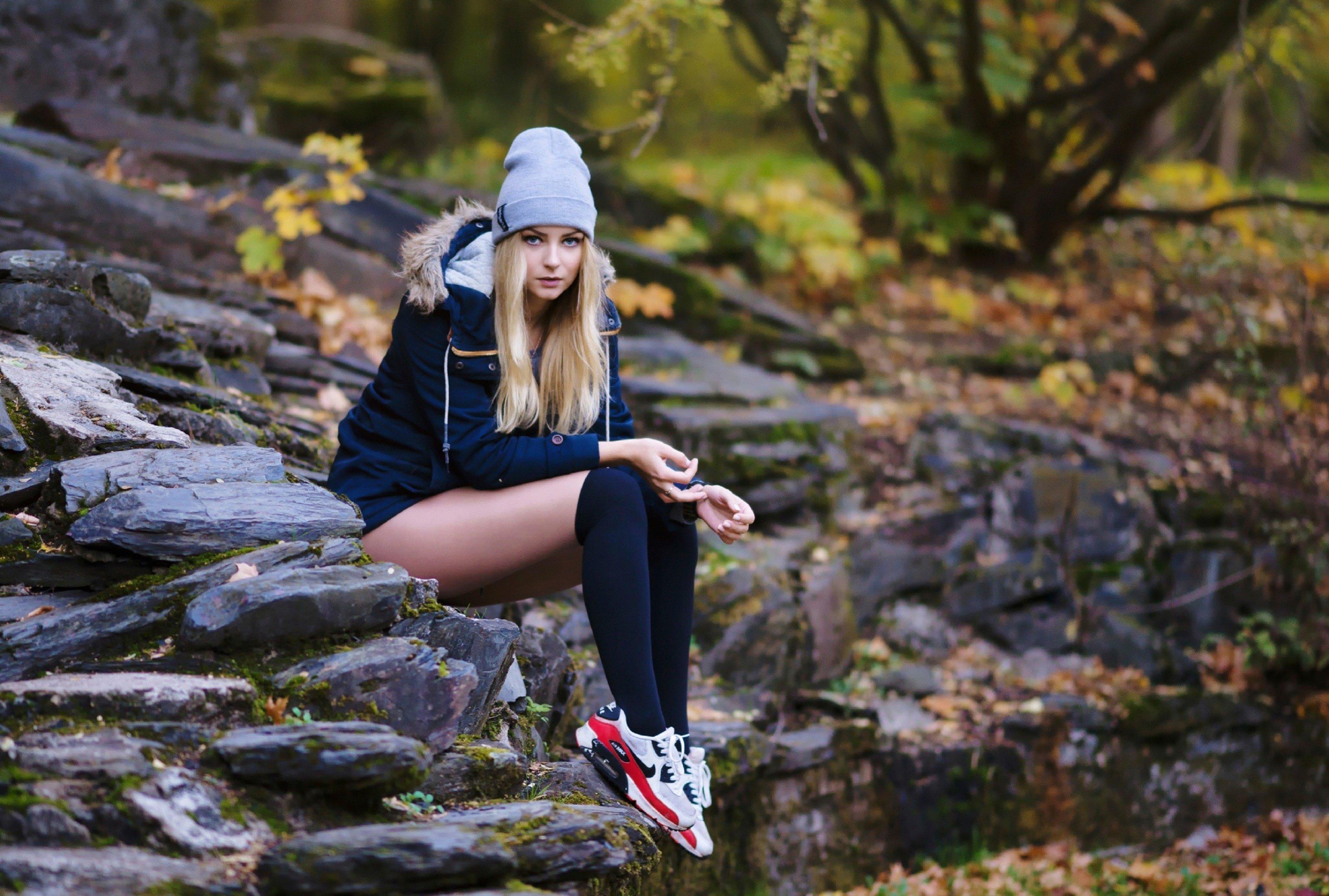 Русские девочки в лесу 14 фотография