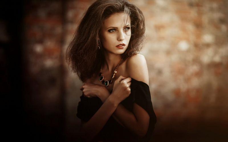 women woman female model mood girl girls style models wallpaper