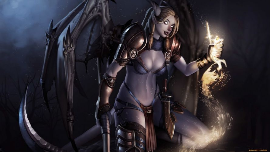 fantasy artwork art warrior women woman female magic wallpaper