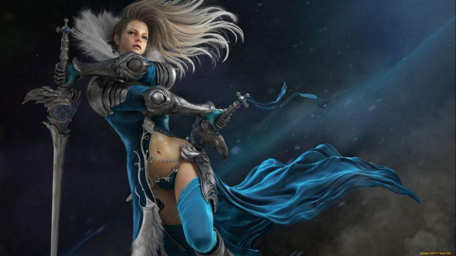 fantasy artwork art warrior women woman female wallpaper