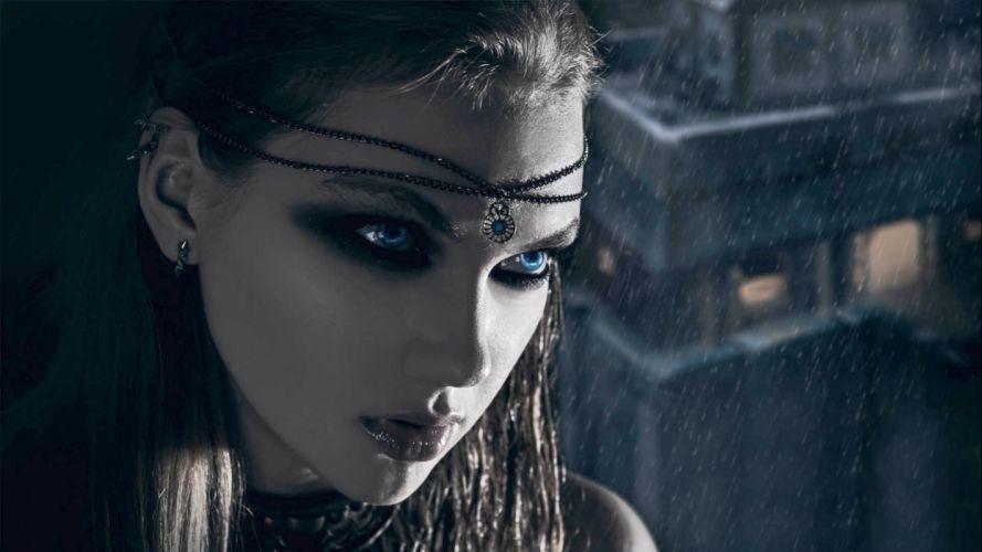 fantasy artwork art dark vampire gothic girl girls wallpaper