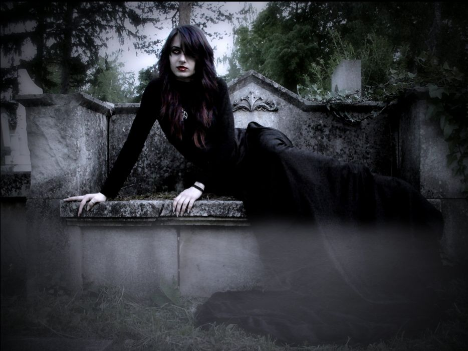 fantasy artwork art dark vampire gothic girl girls horror evil wallpaper