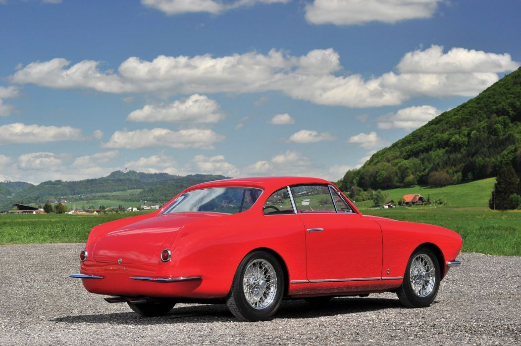 Fiat 8V Coupe 1953 Vignale red cars classic wallpaper