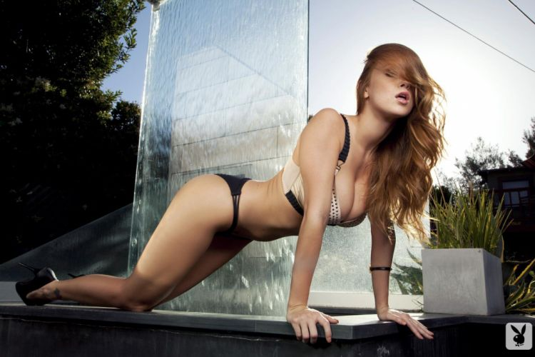 Sensuality Leanna Decker cascade pose model women girls rdehead wallpaper