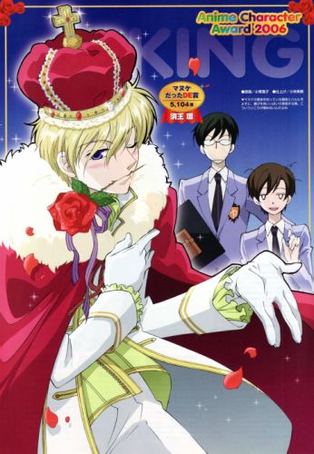 Ouran High School Host Club Series males anime group girl rose wallpaper