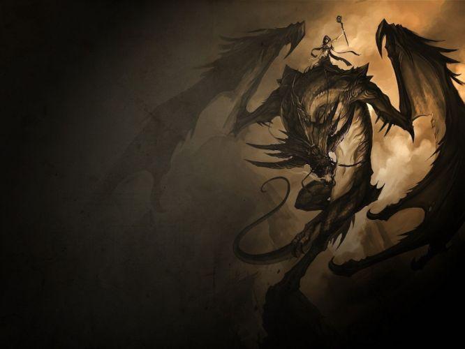 Arts dragon darkness rider wallpaper