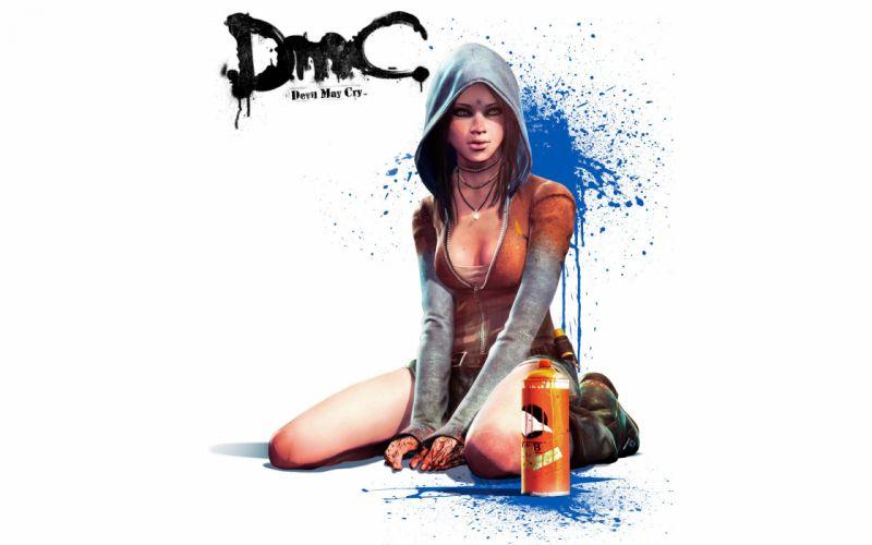 Games arts devil may cry 5 hood kat spray dmc paint girls wallpaper