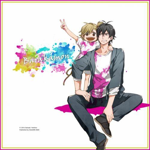 anime children Barakamon Series Naru Kotoishi Character Seishu Handa Character cute wallpaper