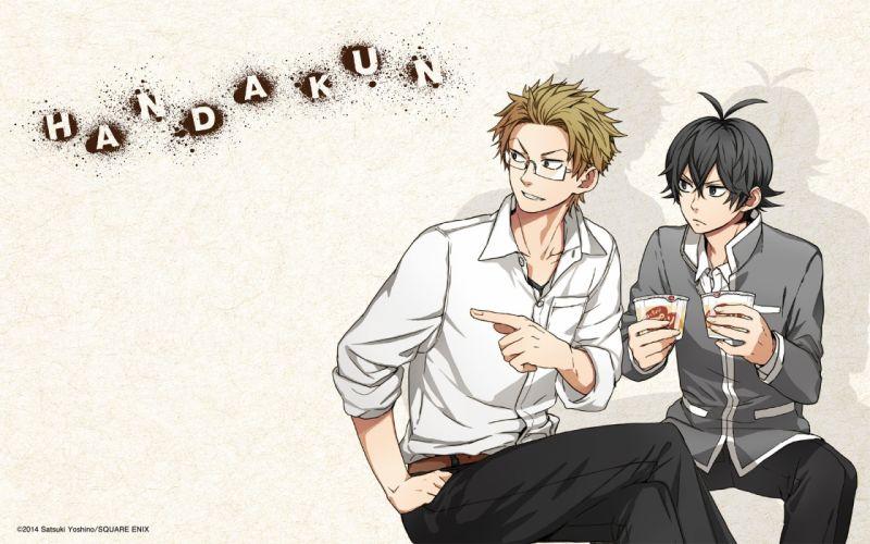 Barakamon Series Takao Kawafuji Character Seishu Handa cute anime males friend wallpaper