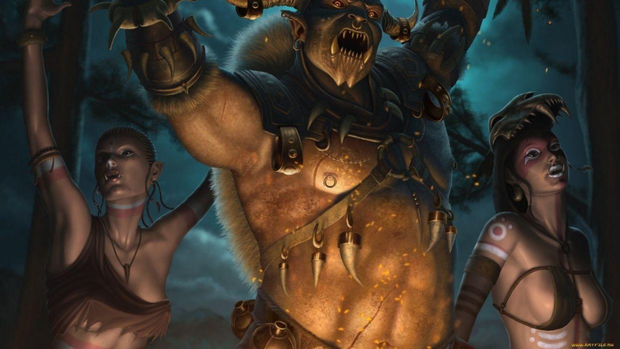 fantasy art artwork creature monster demon s wallpaper