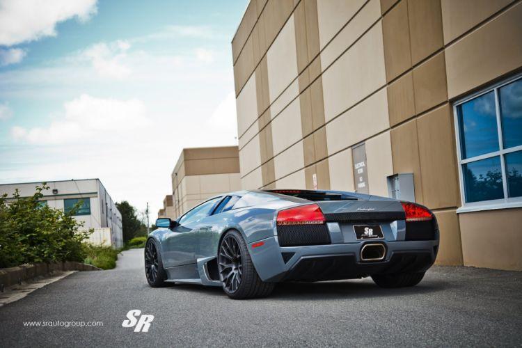 Lamborghini Murcielago cars pur wheels tuning wallpaper