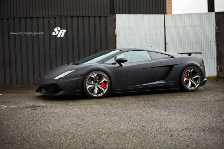 Lamborghini Gallardo black cars pur wheels tuning wallpaper