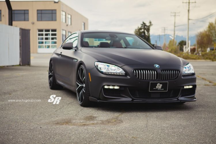 bmw m6 coupe black black mat cars pur wheels tuning wallpaper