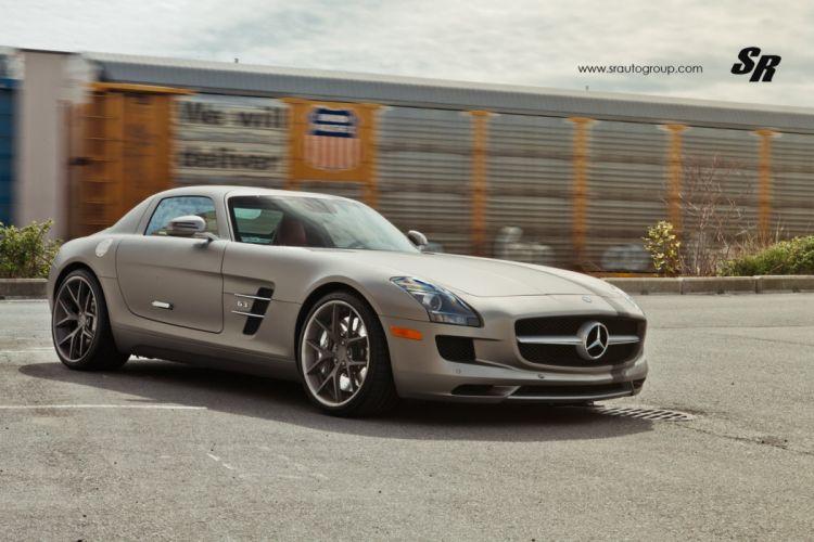 mercedes sls mat cars pur wheels tuning wallpaper