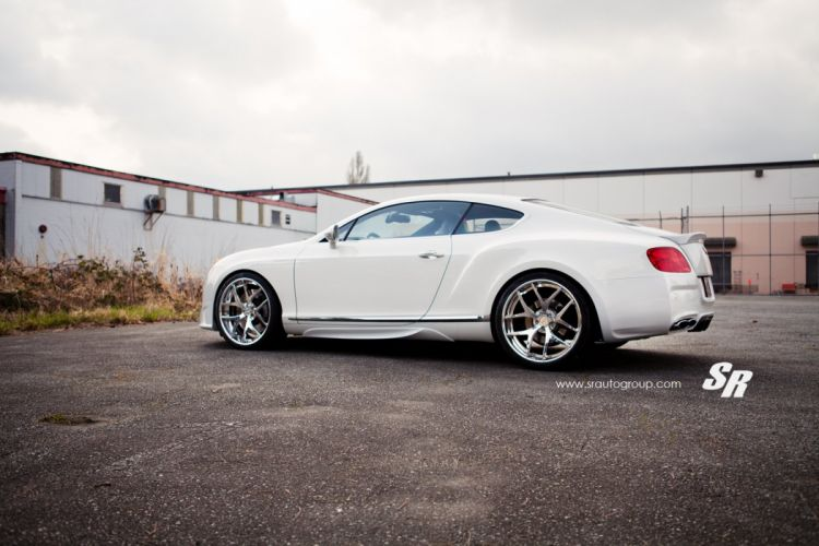 Bentley Continental GT white cars pur wheels tuning wallpaper