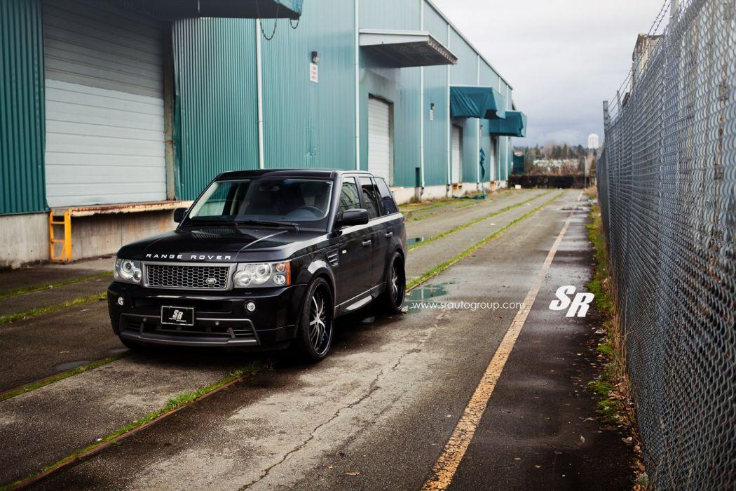 Range Rover black cars modulare wheels tuning wallpaper