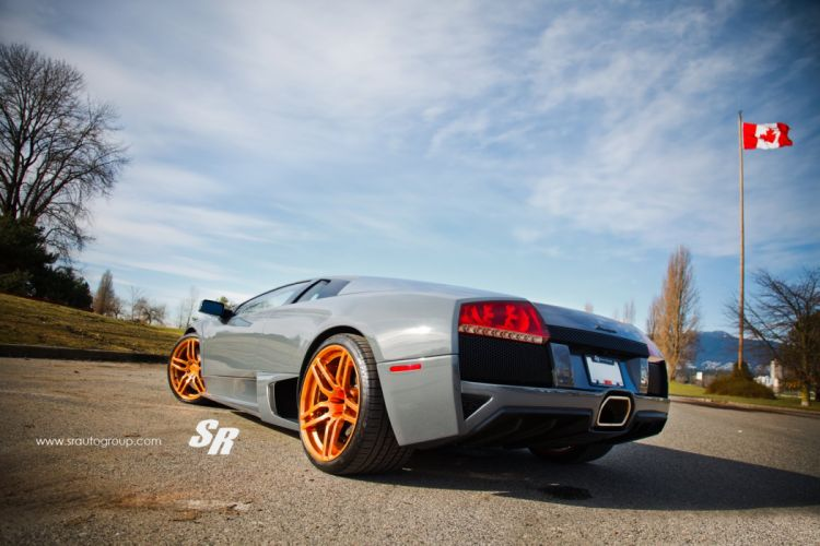 Lamborghini Murcielago cars pur wheels tuning wallpaper
