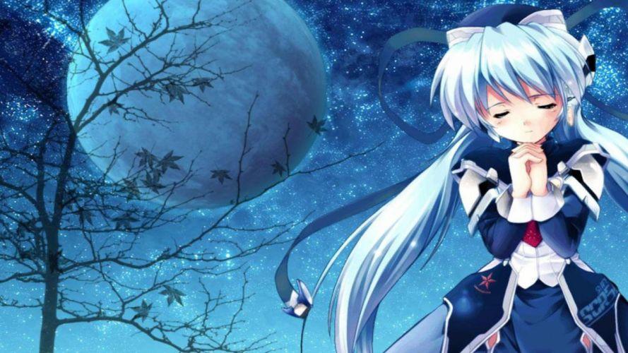 Adorable moon anime wallpaper