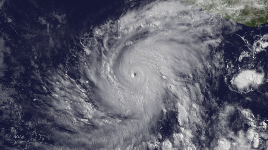 Hurricane Blanca Hurricane Pacific Aerial Nasa storm wallpaper