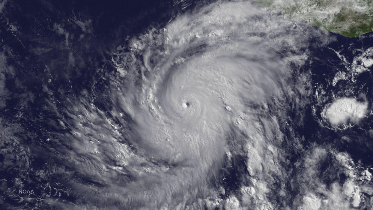 Hurricane Blanca Hurricane Pacific Aerial Nasa storm wallpaper
