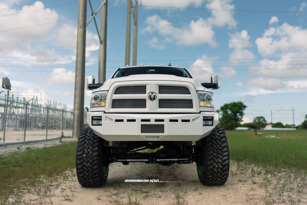 Adv 1 Wheels Gallery Cars Pickup Dodge Ram 2500hd 4x4 All Road Tuning White Wallpaper 2400x1602 720338 Wallpaperup