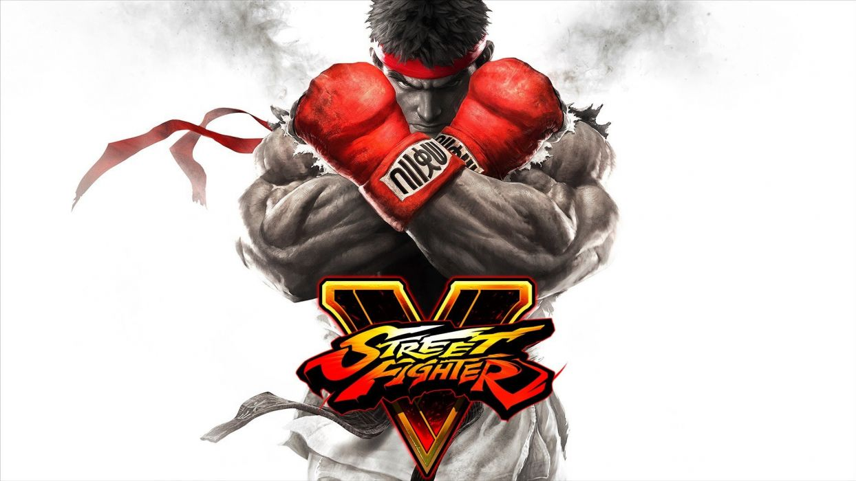 STREET FIGHTER V action fighting warrior battle five arena martial arts 1sfv fantasy playstation sony poster wallpaper