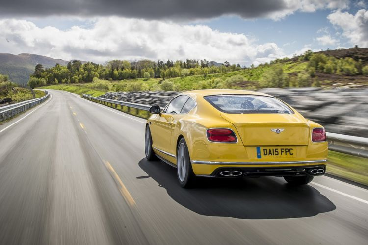 2016 Bentley Continental-GT coupe cars yellow wallpaper
