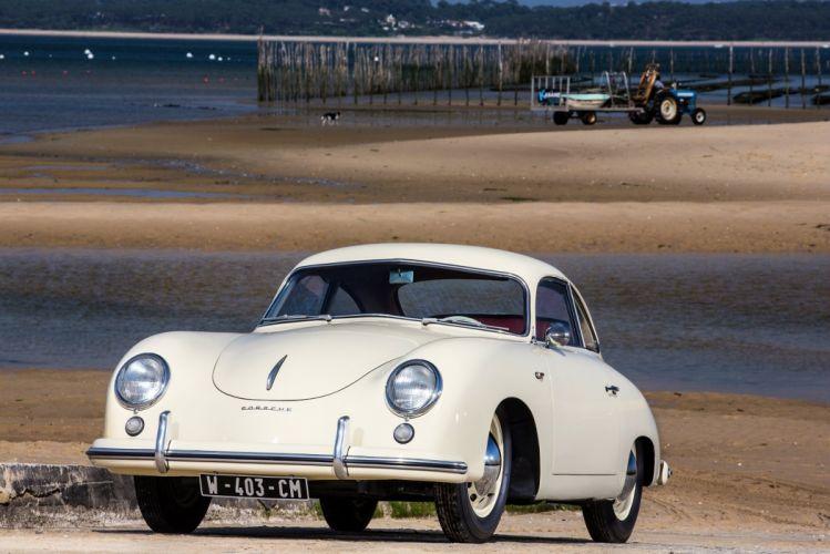 Porsche 356 1500 Coupe cars classic Reutter 1954 wallpaper