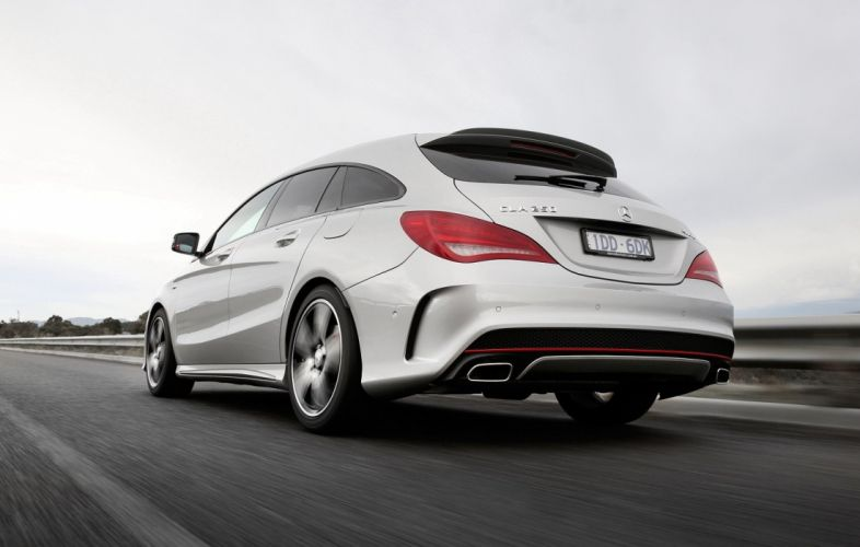 Mercedes Benz CLA 250 Sport 4MATIC Shooting Brake AU-spec cars wagon X117 '2015 wallpaper