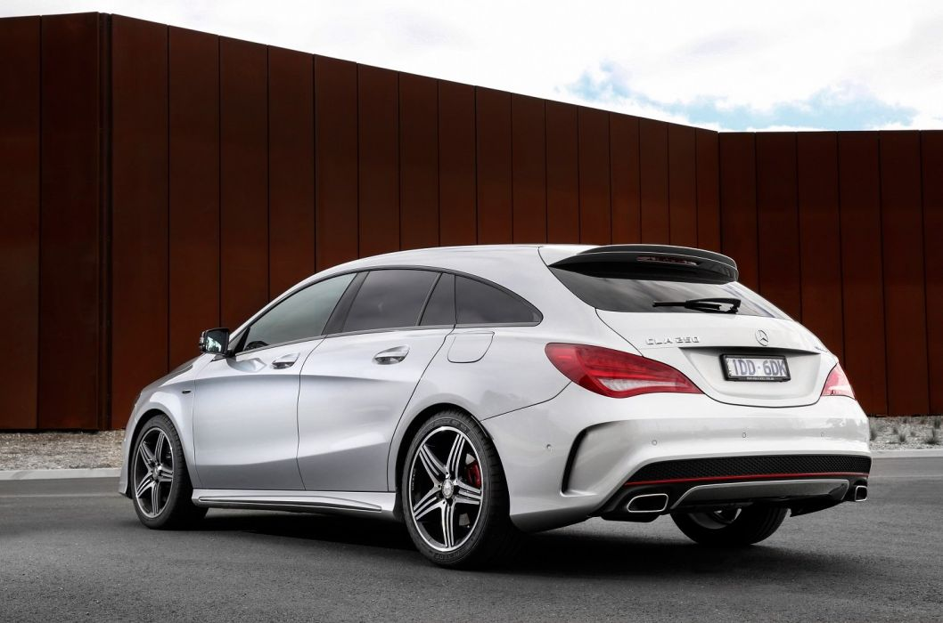 Mercedes Benz CLA 250 Sport 4MATIC Shooting Brake AU-spec cars wagon X117 '2015 wallpaper