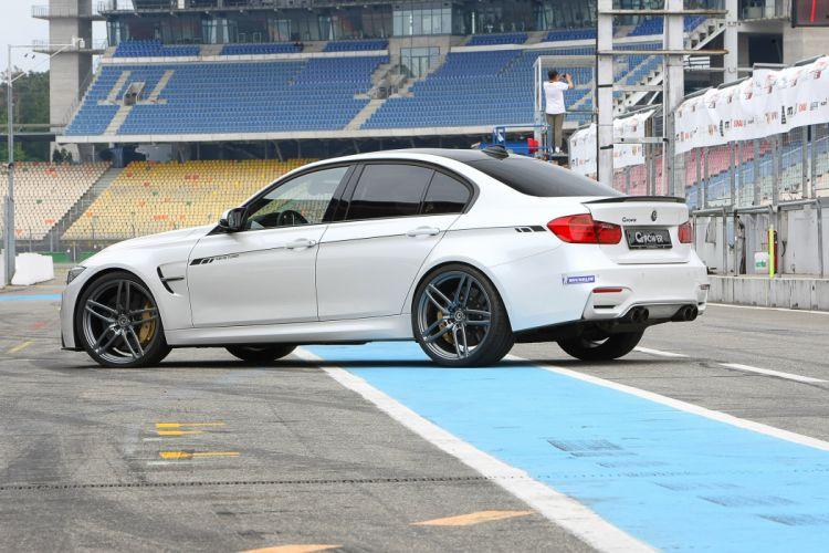 2015 G-POWER BMW M3 F80 cars white modified wallpaper