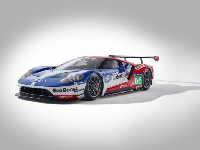 2015 Ford-GT le-mans racecars cars Endurance Championship wallpaper