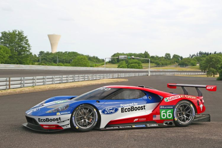 2015 Ford-GT le-mans racecars cars Endurance Championship wallpaper