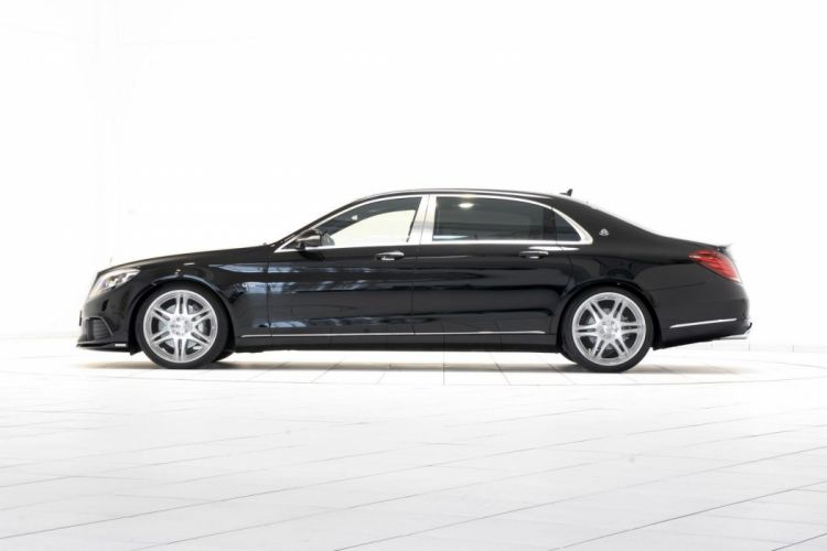 Brabus Mercedes Maybach S600 black modidied cars wallpaper