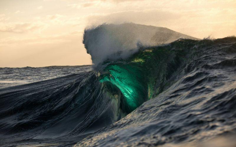 Seascape Ocean Sea Waves wallpaper