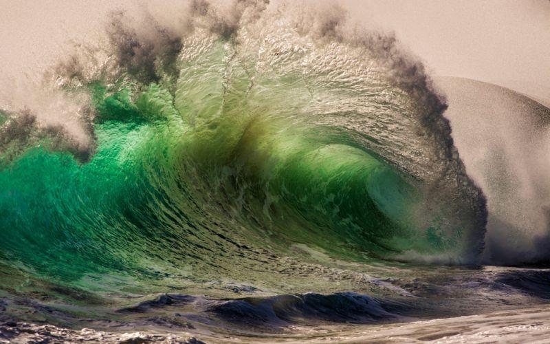 sea ocean waves wallpaper