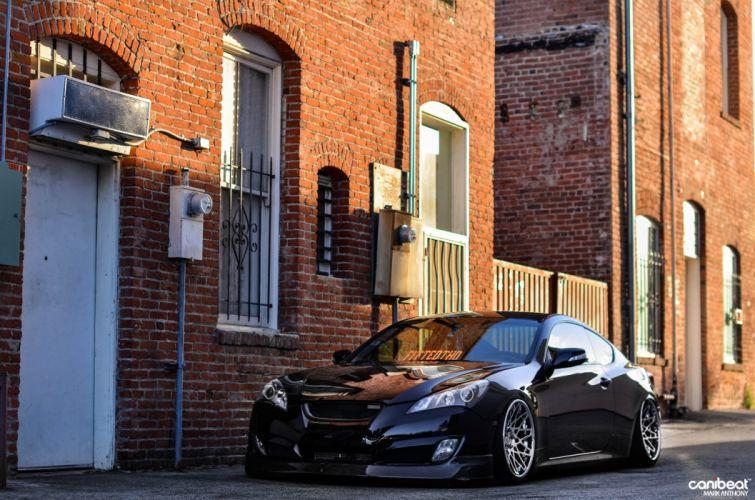 Hyundai Genesis tuning custom wallpaper